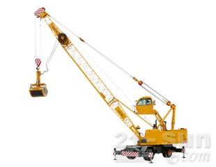 八达重工QLYS16HZ电动液压轮式桁架臂抓斗起重机