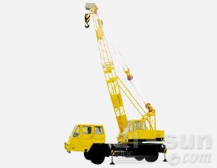 八达重工SDQY20HZ双动力液压汽车式桁架臂抓斗起重机