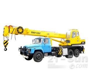 八达重工SDQY12SZ双动力液压汽车式伸缩臂抓斗起重机