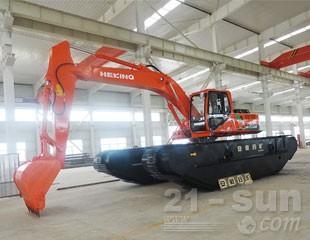合矿HK300SDC湿地液压挖掘机图片