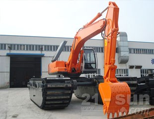 合矿HK260SD湿地液压挖掘机