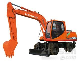 合矿HKL210轮式挖掘机图片