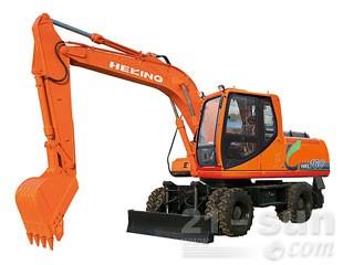 合矿HKL160轮式挖掘机图片