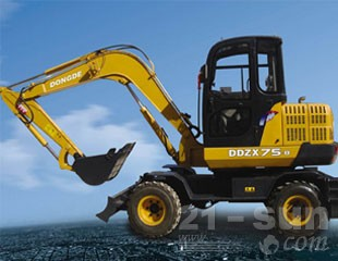 东德重工DDZX75-8轮式挖掘机图片