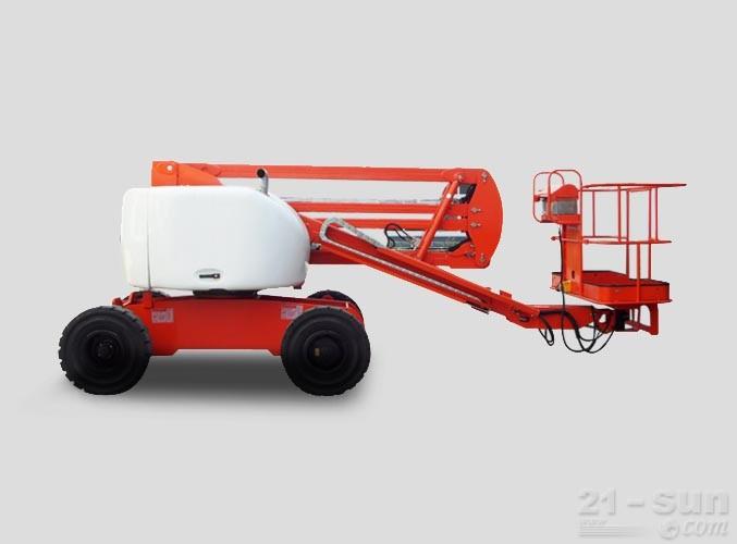 星邦重工GTZZ15曲臂式高空作业车外观图1