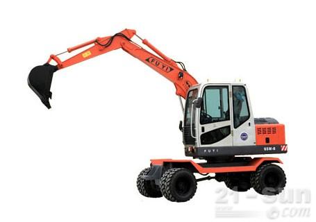 富亿机械W65-8轮式挖掘机