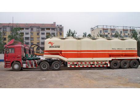 中建机械YCZ9381GFL立式罐散装物料车