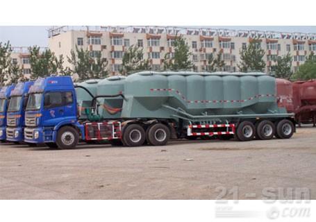 中建机械YCZ9370GFL立式罐散装物料车