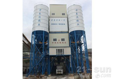 中建机械HLS240搅拌楼