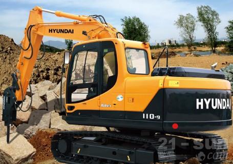 现代R110-9挖掘机