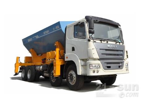三一散料刚性自卸卡车