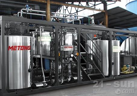 美通筑机MTR6/MTR10沥青混合料搅拌设备