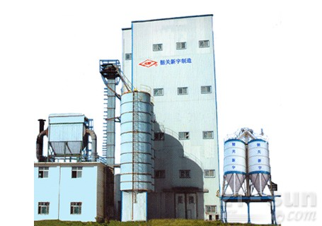 新宇机械GTD15/30/45/60塔楼式干混砂浆生产线