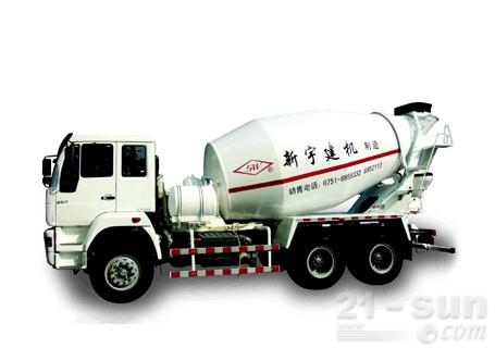 新宇机械SGX5250GJBRY12立方搅拌输送车