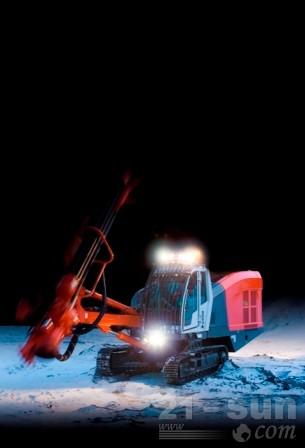 山特维克DI550露天顶锤钻机