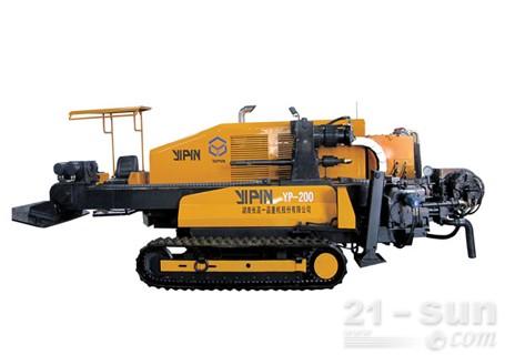 长高一品YP-200非开挖水平定向钻机图片