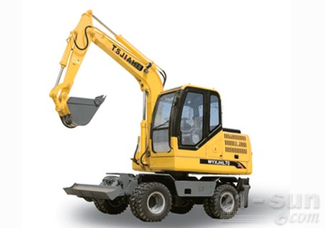 嘉和重工JHL70轮式挖掘机