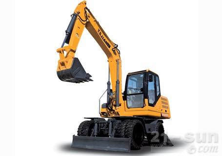 嘉和重工JHL85轮式挖掘机