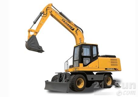 嘉和重工JHL135轮式挖掘机