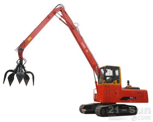 东德重工DDZX200双动力抓钢机图片