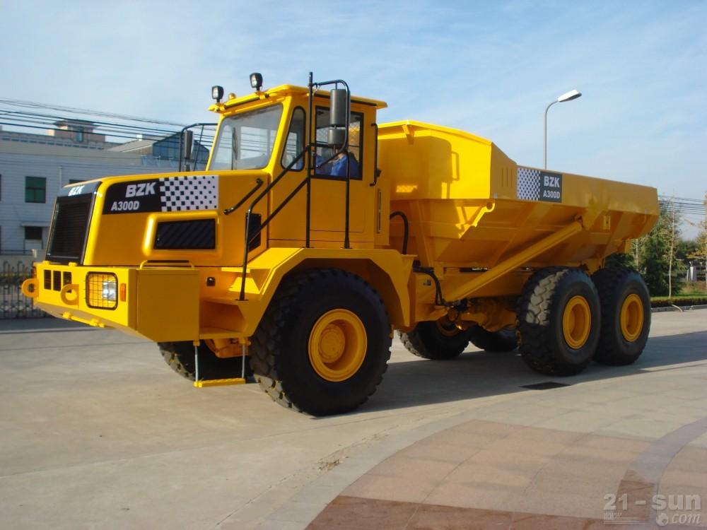 中环动力BZK A300D铰接式自卸卡车