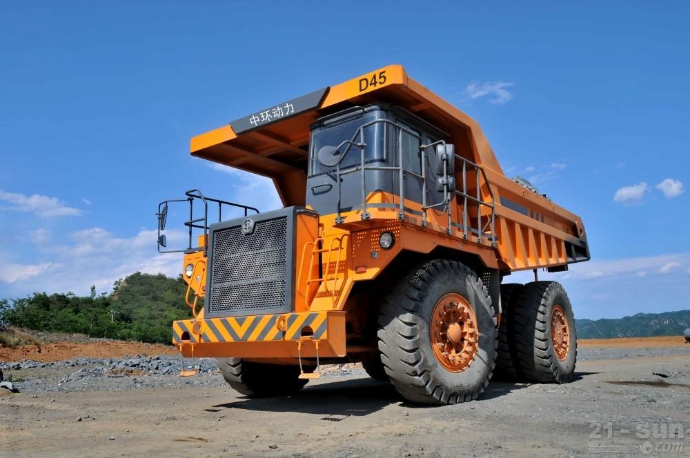 中环动力BZK D45铰接式自卸卡车