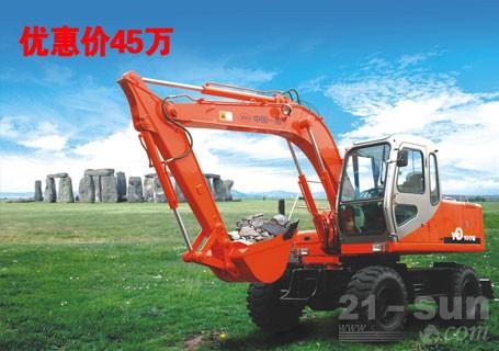 东方红100W轮式挖掘机