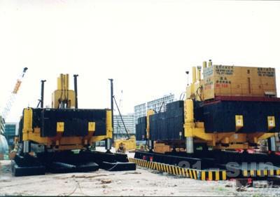新天和ZYC1200B液压静力压桩机