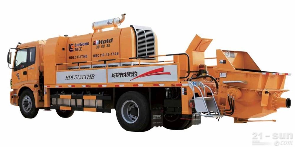 鸿得利重工HDL5131THB(HBC110-12-174S)车载泵