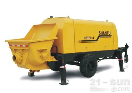 山推HBT6014拖泵