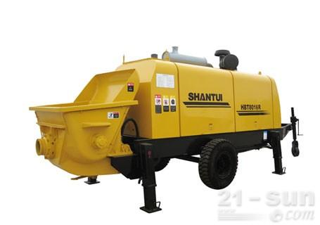 山推HBT8016R-I拖泵