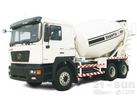 山推HJC5256GJB混凝土搅拌运输车