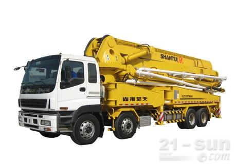 山推HJC5390THB48米泵车