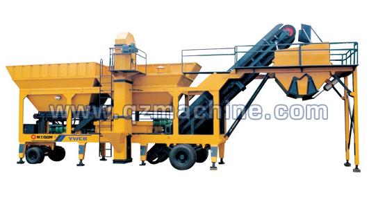 泉工YWCB系列移动稳定土厂拌设备