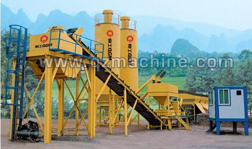 泉工WCB系列模块稳定土厂拌设备