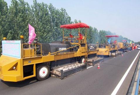 森远SY4500沥青路面热再生重铺机组