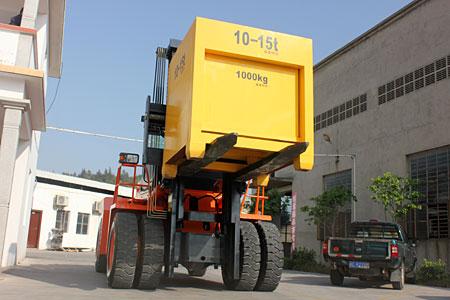 华南重工HNF200C下叉式集装箱重箱叉车