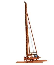 东达桩工JBY150液压步履式桩架