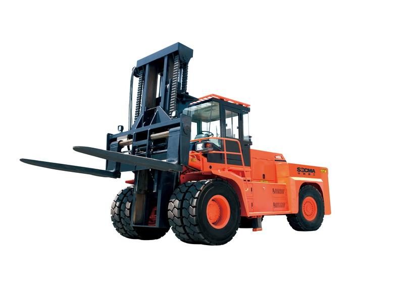 华南重工HNF350M矿山专用叉车