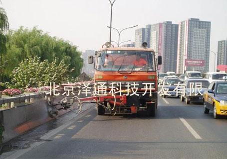 泽通ZTFZD-1200公路防撞墩清洗车