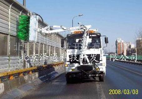 泽通ZTSD-2002隔音屏清洗车
