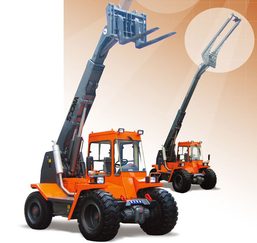 华南重工HNT40-2伸缩臂叉装机