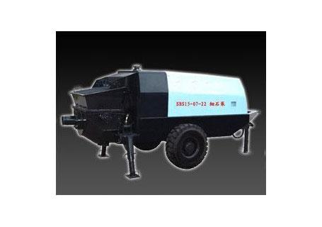 中青林SBS系列砂浆混凝土泵