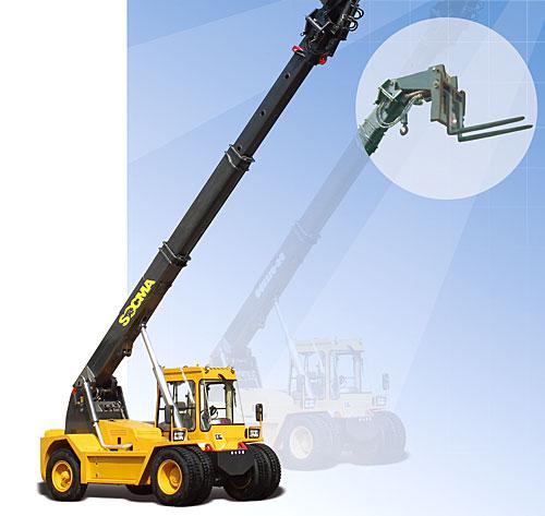 华南重工HNT110-2C伸缩臂叉装机