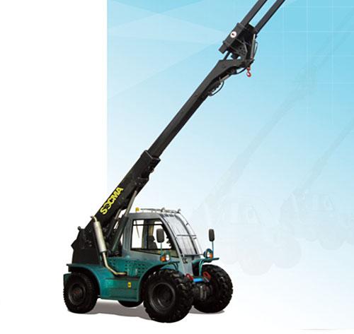 华南重工HNT30-4D伸缩臂叉装机