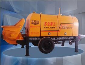 尤尼克DHBT系列柴油机混凝土输送泵