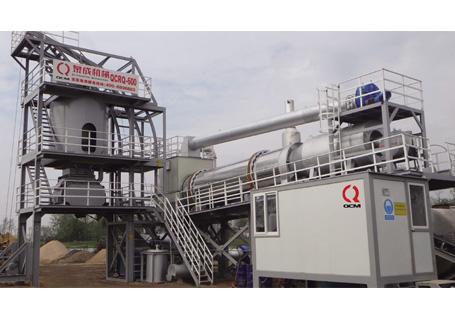 泉成机械QCRQ系列全再生沥青混合料搅拌设备