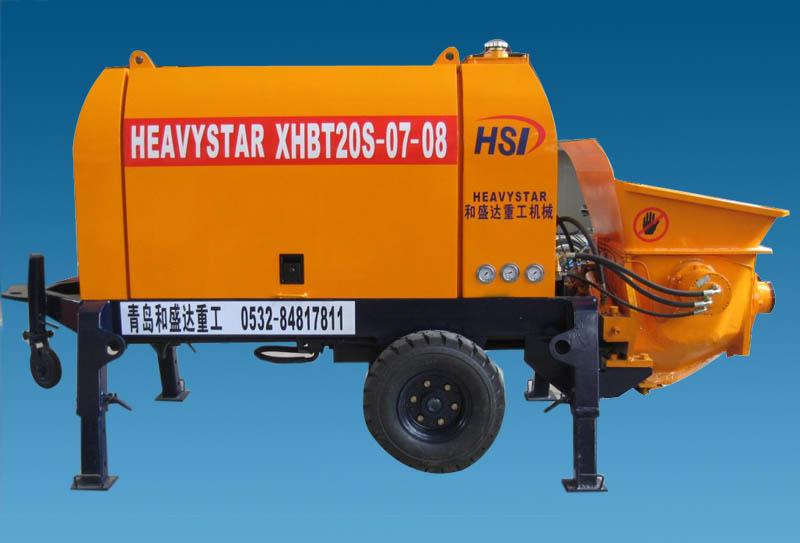 和盛达XHBT20S-0708输送泵