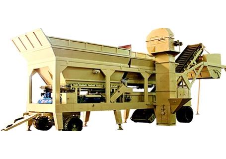 泉筑YWBS-200/300移动式稳定土厂拌设备