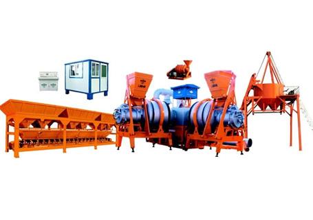 泉筑LJGQ-60强制式沥青混凝土搅拌设备图片